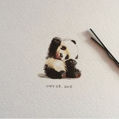 So cute By @cloveriee - Check out our fellow art page @arts_help My collection of cool/interesting/inspirational artwork and photography from net