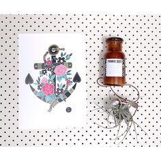 A N C H O R S  A W A Y | Love this new print from the amazing @_jessica_leigh__ | Shop www.daisychainstore.com.au