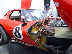 RacingFR > GTL - Bill Thomas Cheetah Sports Car Racing, Race Cars, Auto Racing, Chevy, Chevrolet, Car Hood Ornaments, American Racing, Old School Cars, Vintage Race Car