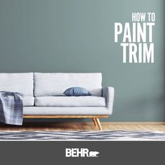 Elevate your interior space by giving your trim a simple and easy makeover with a new coat of paint. Click below to learn how to paint the trim like a professional and view other helpful how-to videos.