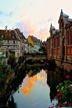Fairy Tale like Village in Colmar, France. No matter the time of year that you visit, Colmar is a charming travel experience. Be sure to add it to your France itinerary.