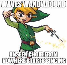Wind Waker...what an awesome game that was!