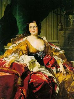 Louis-Michel van Loo, Portrait of Louise Elisabeth of France, Duchess of Parma, 1745, Oil on canvas,142 x 112 cm (Prado)