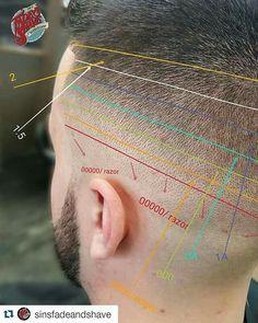 Diy Haircut, Fade Haircut, Black Men Hairstyles, Hairstyles Haircuts, Modern Haircuts, Haircuts For Men, Corte Fade, Barber Tips, Medium Hair Styles