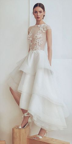 be0f51f82fe0 241 Best Short   Tea Length Wedding Dresses images in 2019