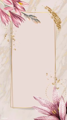 gold glitter background Pink amaryllis pattern with gold frame vector Phone Wallpaper Images, Framed Wallpaper, Pink Wallpaper, Iphone Wallpaper, Blog Backgrounds, Flower Backgrounds, Wallpaper Backgrounds, Flower Background Wallpaper, Background Patterns
