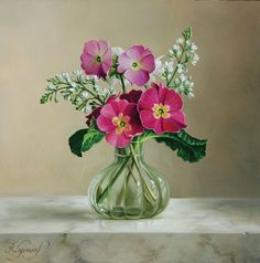 Цветы от художника Pieter Wagemans - Ярмарка Мастеров - ручная работа, handmade