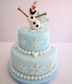 Frozen birthdaycake http://www.mygreatestparty.com/cat/c1/partys/disney