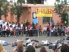 "Bartley Elementary ""Thriller"" dance - YouTube"
