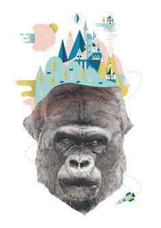 Jordan Andrew Carter ilustraciones rositas para alegrar el primer viernes de…