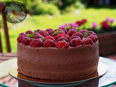Kulinarne Szaleństwa Margarytki: Tort czekoladowo – truskawkowy Cheesecake, Cooking, Recipes, Food, Kitchen, Cheesecakes, Essen, Meals, Eten