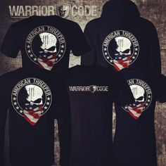 American Threeper Men's and Women's T-Shirts, Long Sleeves and Hoodies... Get one now www.WarriorCode.us ★U.S. Veteran Owned★ Warrior Code  Live it. Wear it.  Don't know what a Three Percenter is?  See our site.  #3percentergear #3percenters #3percenter #3percent #threepercenter #threepercent #iiipercenter #iiipercenters #threepercenters #threeper #iii #iiipercent #iiipercenter #iiipercenters #donttreadonme #guns #gunrights #opencarry #concealedcarry #armed #america #2a #2a3p #girlswithguns…