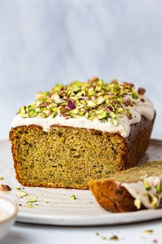 Vegan courgette cake - Lazy Cat Kitchen Butter Block, Lazy Cat Kitchen, Lemon Frosting, Summer Cakes, New Recipes, Vegan Recipes, Delicious Recipes, Sweet Recipes, Cake Recipes