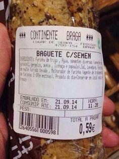 18 Strange and Funny Food Packaging and Label Fails: It's Delicious AND Nutritious Carne Desebrada, Beer Images, Weird Food, Crazy Food, Gross Food, Food Humor, Funny Food, Cooking Pumpkin, Food Names