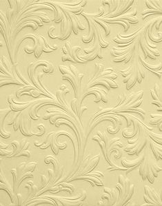 Lincrusta Acanthus embossed wallpaper