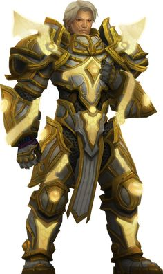 Turalyon by Daerone Character Portraits, Character Art, Character Design, World Of Warcraft Paladin, Blizzard Warcraft, Warcraft Art, Guild Wars, Fantasy Armor, Wow Art