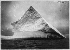 An iceberg near the head of Trinity Bay, Newfoundland   between 1900 and 1923   Source