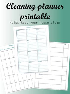 Let me help clean your house with this planner. I have a passion for cleaning and organizing and I can help you. The #cleaning #planner that #helps you #clean your #house and keep is that way. I can help you #organize your #life and keep you #happy. It is a #simple #printable #planner that you can #print in the #comfort of your own #home. #organizing might be the #most #important thing in my #life. And I can help #you #do the same. #cleaner #organizer #cleanhouse #cleanplanner #organizerooms Printable Planner, Printable Wall Art, Printables, House Cleaning Tips, Cleaning Hacks, Organization Hacks, Organizing, Making A Business Plan, Helping Cleaning