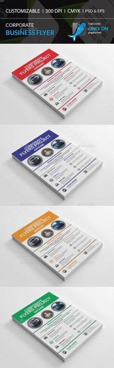 Corporate Flyer Design Template - Corporate Flyer Template PSD, Vector EPS, AI Illustrator. Download here: https://graphicriver.net/item/corporate-flyer/17284680?ref=yinkira