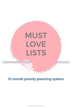 If you keep starting over with the same goals and lists every new year, this is for you!  Try using monthly lists to prioritize and plan your entire year.  #monthlylists #monthlyplanning #planyouryear Holiday List, Holiday Fun, Susan Wise Bauer, New Year Planning, Money Saving Mom, Love List, Holiday Calendar, Story Of The World, Well Thought Out