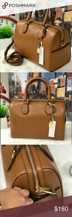 ‼️Final cut‼️ MICHAEL KORS MERCER DUFFLE BAG This sophisticated MK mercer duffle bag is spacious and made with high quality leather. Michael Kors Bags Satchels