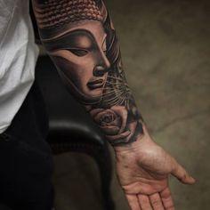 Resultado de imagem para buda tattoo