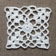 Crochet Easy Motif Making 3 - örgü motif - Granny Square Häkelanleitung, Granny Square Crochet Pattern, Crochet Blocks, Afghan Crochet Patterns, Crochet Squares, Crochet Motif, Crochet Doilies, Crochet Flowers, Crochet Stitches