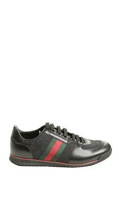 cheaper 68b22 8d00f Gucci Tennis Sneaker in Black for Men. Gucci Shoes, Gucci Sneakers, Men  Sneakers
