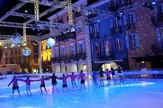 Locarno on ice - photography - places Ⓒ PASTELPIX