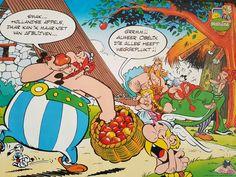 Asterix met Hollandse appels