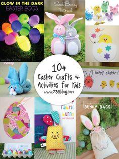 10+  Fun Easter Crafts