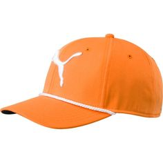 Puma Youth #gotime Rope Golf Hat, Kids Unisex, Orange