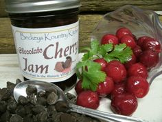 Our Homemade Chocolate Cherry jam is made from world renowned Michigan Cherries and Ghirardelli chocolate. You will enjoy this jam right to