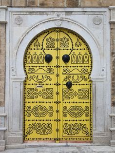 Amazing Doors of Tunisia ! Amazing Doors of Tunisia ! Amazing Doors of Tunisia !