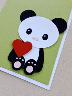 Panda me, will you be my Valentine?