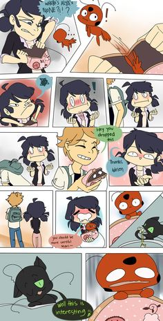 Purse - A Miraculous Ladybug Comic by Shizzome on DeviantArt Meraculous Ladybug, Ladybug Comics, Ladybugs, Miraculous Ladybug Fanfiction, Miraculous Ladybug Fan Art, Mlb, Tikki Y Plagg, Adrien Y Marinette, Sailor Moon Character