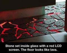 Lava floor. 'nuff said.