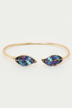 Florenne Bracelet in Sepia Blue