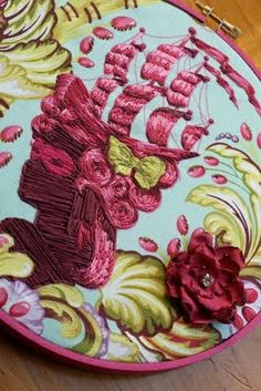 Tute/inspiration for fabric manipulation.