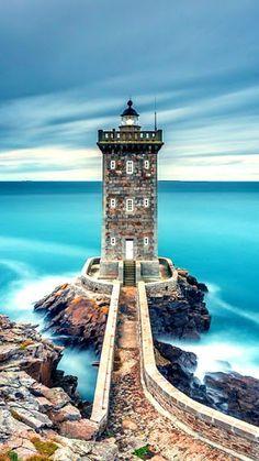 The enchanting Kermorvan lighthouse by Francesco Gola