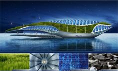 "The ""Physalia"" project is a prototype that aims at meeting the mutual needs of sustainable management of water as a resource by architect Vincent Callebaut."
