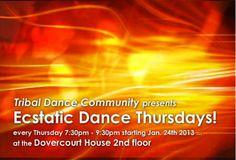 Ecstatic Dance Thursdays | TorontoDance.com