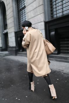 Milan Fashion Week street style. [Photo by Kuba Dabrowski]