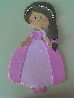 princess -- could use for pattern for paper piecing