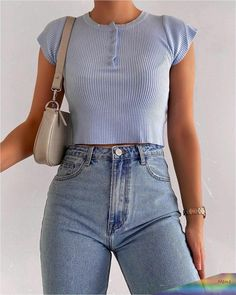 Trend Fashion, 2020 Fashion Trends, Teen Fashion Outfits, Mode Outfits, Retro Outfits, Cute Casual Outfits, Fashion 2020, Look Fashion, Girl Outfits