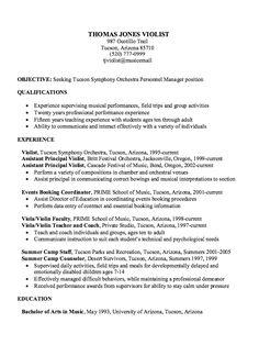 sample experience musician resume httpexampleresumecvorgsample experience - Forklift Resume Samples