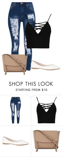 """""""Untitled #477"""" by stephaniasant on Polyvore featuring Boohoo and DKNY"""