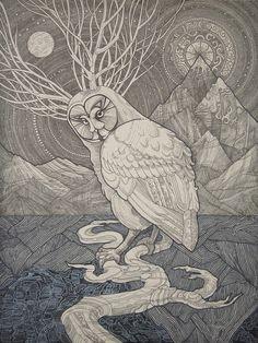 Owl, Svetlana Arkadieva