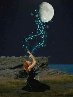 Moon Witch by MotleyMitch on DeviantArt Goddess Art, Moon Goddess, Drawing Down The Moon, Kobold, Moon Witch, Good Night Moon, Moon Magic, Sun And Stars, Moon Lovers