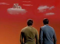 star-trek los guardianes de la nube planeta ardana ciudad stratos kirk y spock
